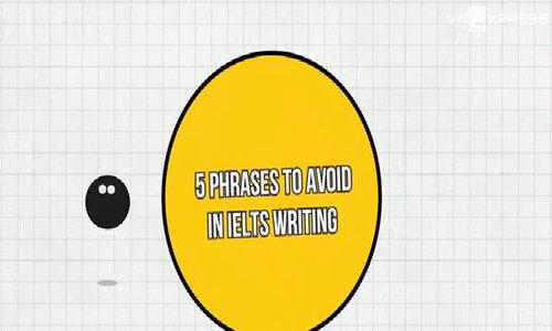5 cụm từ cần tránh trong IELTS Writing