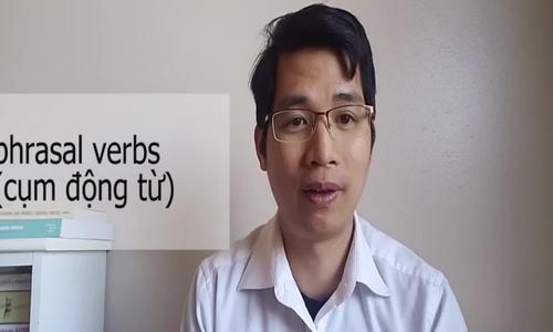 Cách nhấn trọng âm trong cụm động từ