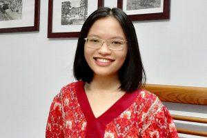 Phạm Khánh Linh thành thạo tiếng Anh, Pháp và Nhật. Ảnh:Nhân vật cung cấp.